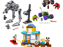 Marvel, Star Wars, and Disney Lego sets are up to 25% off today