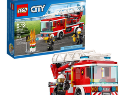 Go on a rescue mission with the $15 Lego City Fire Ladder Truck