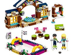 Just $19 will get you this 307-piece Lego Friends Snow Resort Ice Rink Building Kit