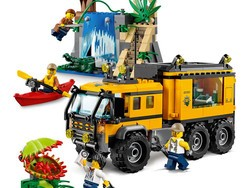 Venture out with the $36 Lego City Jungle Explorers Mobile Lab building kit