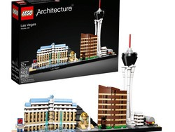 Hit the strip with the $32 Lego Architecture Las Vegas building kit