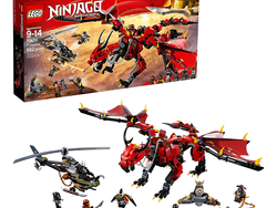 The Lego Ninjago Masters of Spinjitzu set is 20% off for the first time ever