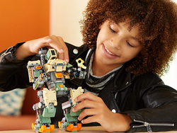 The Gibraltar, Bastion, and other Lego Overwatch sets are 20% off via Amazon