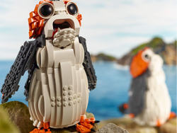 Build a life-size Porg from Star Wars with the first major discount on this new Lego set