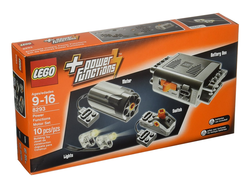 Equip a Lego Technic creation with this Power Functions Motor Set for $25