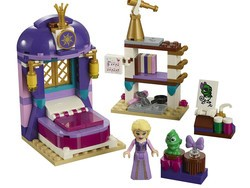Your little princess will love this $16 Lego Disney Princess Rapunzel's Bedroom set
