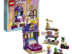 Play with Rapunzel and the Lego Disney Princess Castle Bedroom set at $8 off