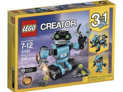The $14 Lego Creator Robo Explorer transforms into three different models
