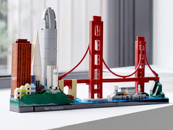 Save $10 on the new Lego Architecture San Francisco Skyline Building Kit