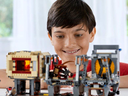 Stock the closet full of gifts with 50% off select Lego sets at Barnes & Noble