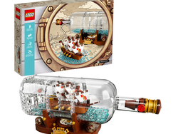 Dream of the sea with this $56 Lego Ideas Ship in a Bottle set