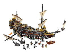 Join Jack Sparrow on the high seas with the $150 Silent Mary Lego set