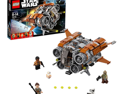Play as a Jedi with the $30 Lego Star Wars Jakku Quad Jumper set