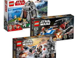 Recreate Star Wars battles with these discounted Lego building kits from $5