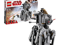 Join the First Order with this $29 Lego Star Wars Heavy Scout Walker set