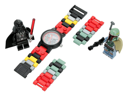 This $15 Lego Star Wars Buildable Watch set comes with Darth Vader and Boba Fett minifigs