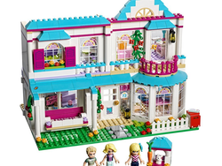 Kids can build and play with the $48 Lego Friends Stephanie's House set