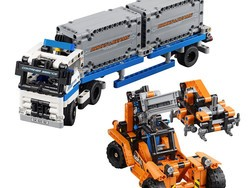 Cross the Lego Technic Container Yard kit off your Christmas list for $36