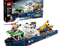 Go on an underwater expedition with the $100 Lego Technic Ocean Explorer set