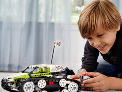 Build then drive around the $85 Lego Technic RC Tracked Racer