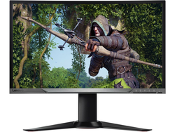 Take your gaming to the next level with a Lenovo 27-inch Full HD curved monitor