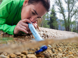 Filter water anywhere with the award-winning LifeStraw on sale for $12