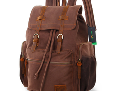 Carry your laptop around with Lifewit's stylish Canvas Backpack for $25