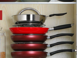 Tidy up your kitchen cabinets with Lifewit's $17 Adjustable Pan and Pot Organizer Rack