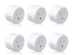 Take 50% off these Lightstory Mini Smart Plugs with prices as low as $5 apiece