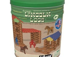 Throw it back with the Centennial Edition Lincoln Logs set for $34