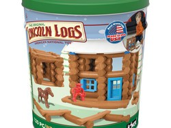 Revisit the good old days with this $16 Lincoln Logs Frosty Falls Ranch set