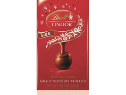 Treat your sweetie with a free bag of Lindor Valentine's Day Milk Chocolate Truffles