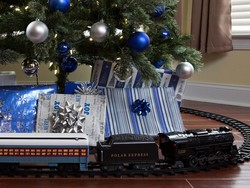 Head to the North Pole with this $50 Lionel Polar Express train set