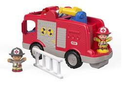 Score the Little People Helping Others Fire Truck playset for $10