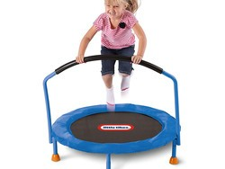 Give kids an outlet for all that boundless energy with this $40 Little Tikes trampoline
