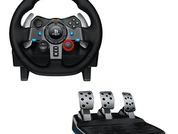Kick your PlayStation games into overdrive with the $200 Logitech G29 Racing Wheel