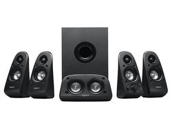 Set up Logitech's 5.1 surround sound speaker system in your home for just $50