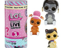 Get your kid a pet that doesn't need to be fed with the $13 L.O.L. Surprise! Interactive Live Pet