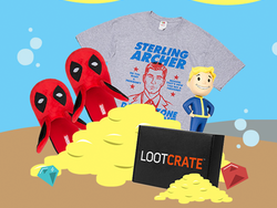 Save up to 40% off various Loot Crate subscriptions this week