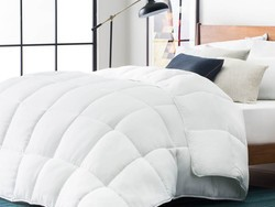 Stay warm thanks to a hot 25% price drop on the Lucid Luxury Down Alternative Comforter