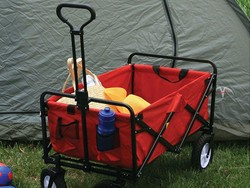 This Mac Sports collapsible folding outdoor utility wagon is down to $50