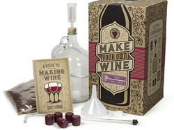 Learn how to make a gallon of Merlot wine with this $54 kit