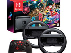 Race your way to Costco and snag this Nintendo Switch Mario Kart 8 Bundle for $358