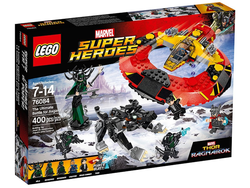 Recreate the Ultimate Battle for Asgard with this $28 Thor: Ragnarok Lego set