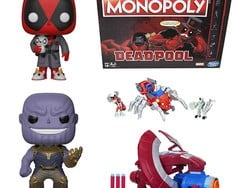 Today only, save up to 40% on Marvel toys, bedding, and more