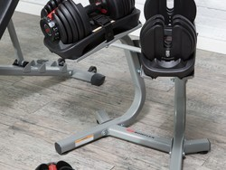 You only have one day to save over $100 on these awesome adjustable Bowflex dumbbells