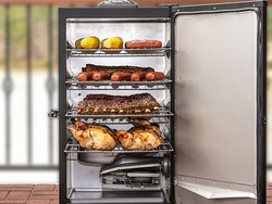 This Masterbuilt 30-inch Digital Electric Smoker is down to $120