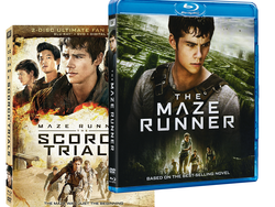 These $8 Maze Runner Blu-ray films include $8 to see the final chapter in theaters