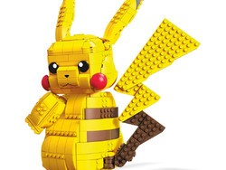 Piece together this Mega Construx jumbo Pikachu figure with $20 off