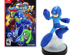 The exclusive Mega Man 11 Amiibo Edition for Nintendo Switch is available to pre-order